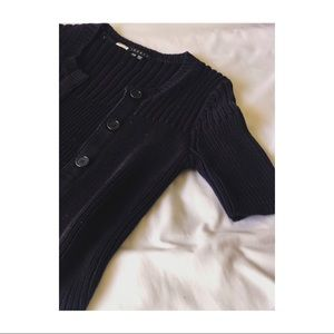 Theory Navy Blue Sweater.